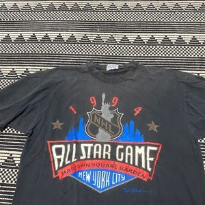 Vintage Shirts - Vintage 90s NHL Hockey Shirt